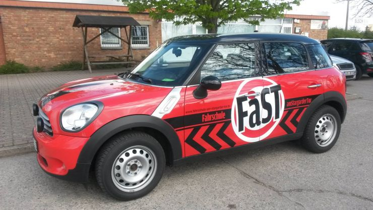 FaSTs rot-schwarzer Mini